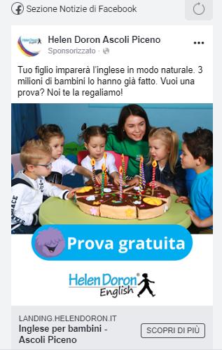Helen Doron Facebook Ads