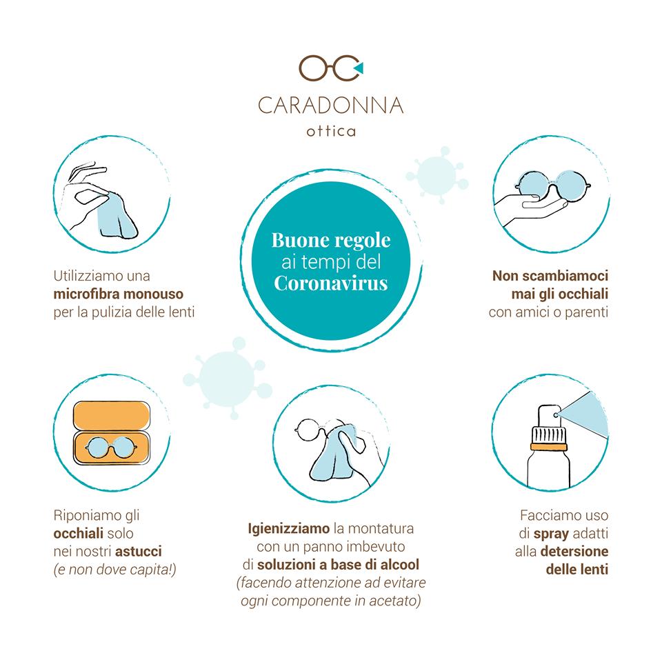 Come cambia la comunicazione ai tempi del coronavirus. Ottica Caradonna
