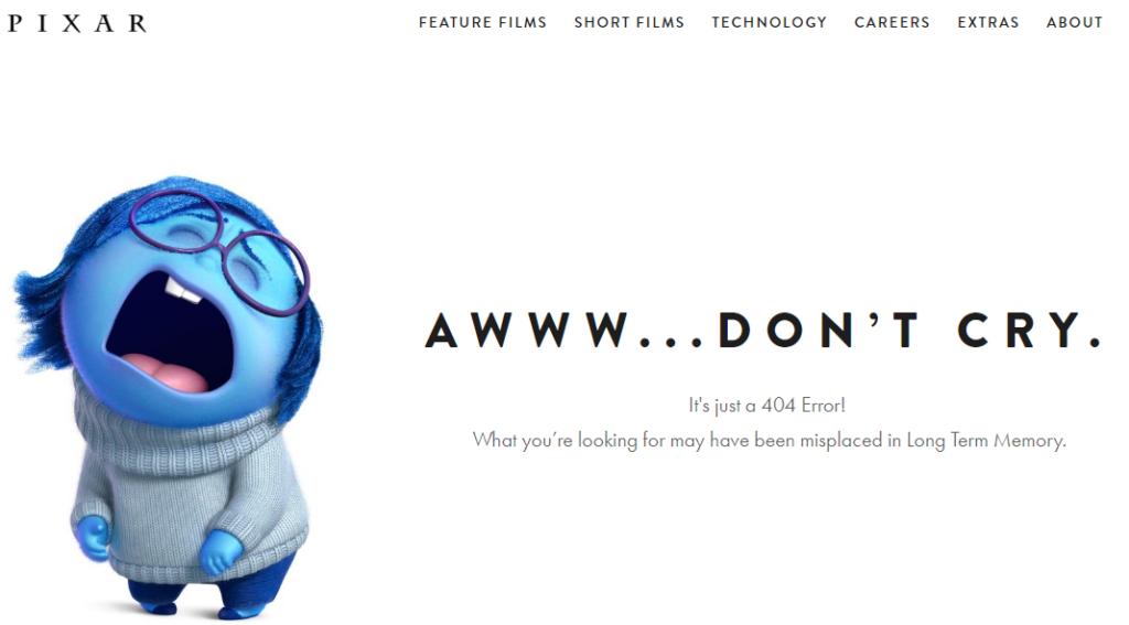 404 - Pixar
