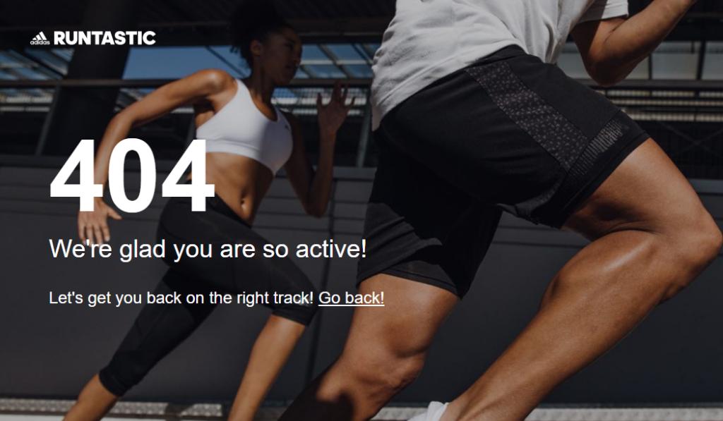 404 Adidas Runtastic